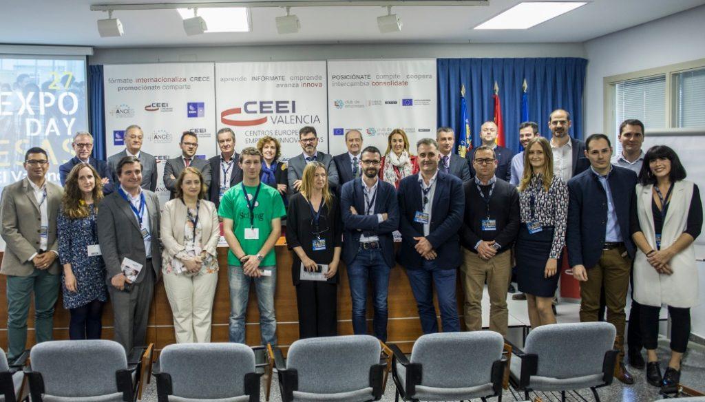 Nueve empresas valencianas muestran sus innovaciones en el CEEI Valencia